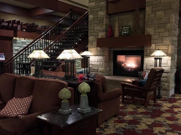 Lobby, DoubleTree Fallsview, Niagara Falls, Ontario, Canada