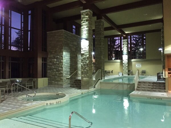 Pool, DoubleTree Fallsview, Niagara Falls, Ontario, Canada