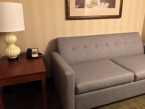 Suite, DoubleTree Fallsview, Niagara Falls, Ontario, Canada