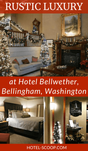 Located on Bellingham Bay, about three-quarters of the way between Seattle and the US-Canadian Border, the Hotel Bellwether is consistently rated one of the top luxury hotels in the Pacific Northwest. Read the review.