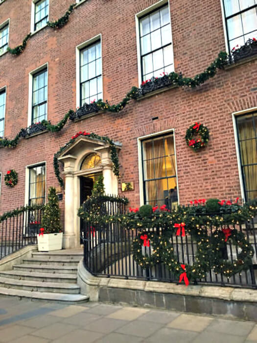 The Merrion Hotel is a luxurious five star hotel set in the heart of Dublin on Merrion Square
