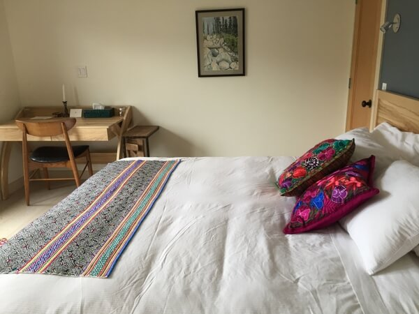 Guest room, The Sentinel, Kaslo BC Canada