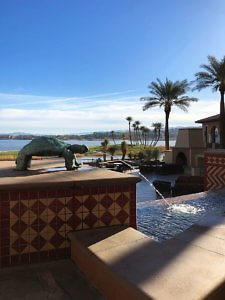 The Westin Lake Las Vegas outside fountain & lakeview