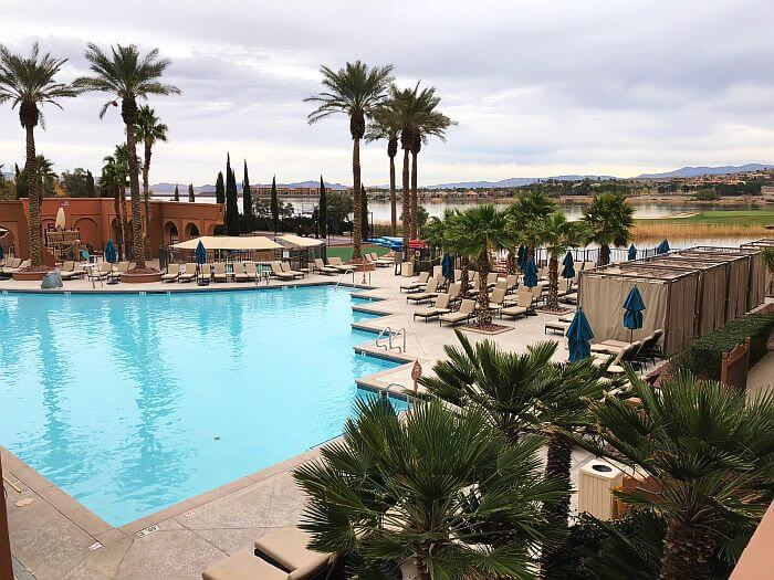 One of The Westin Lake Las Vegas pools