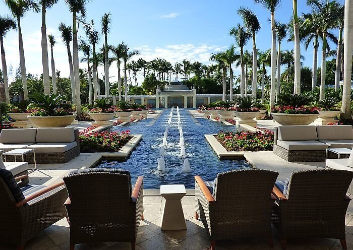 Hyatt Regency Coconut Point Bonita Springs south of Fort Myers, Florida