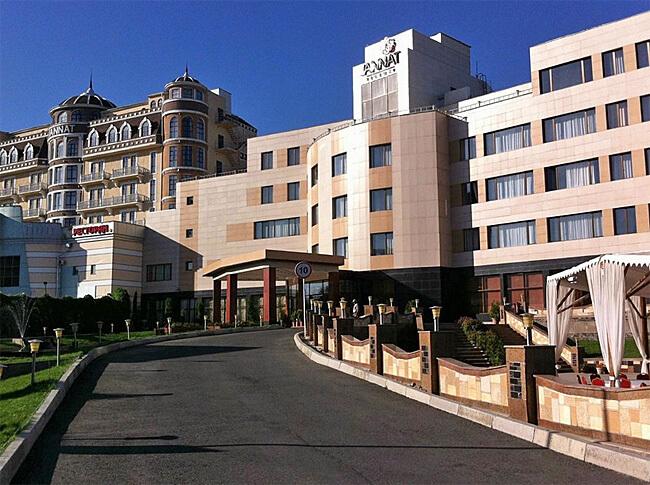 Jannat Hotel, Bishkek, Kyrgyzstan
