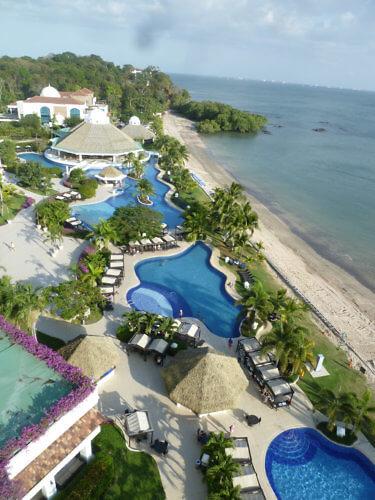 Westin Playa Bonita Panama aerial view