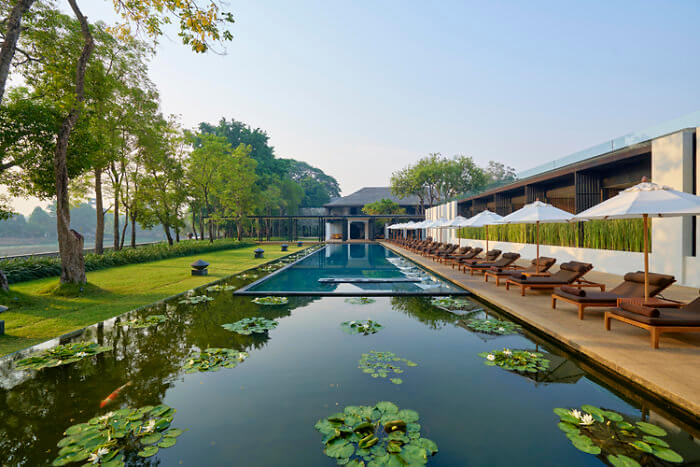 swimming pool; infinity pool; luxury; family friendly; Thailand; Chiang Mai; Anantara