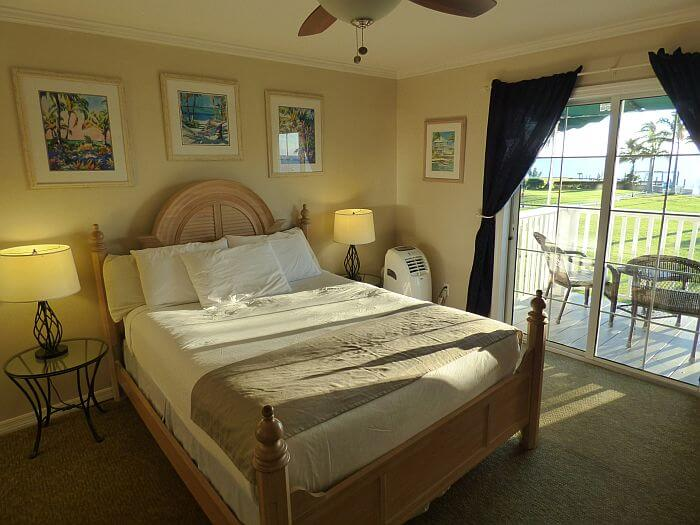 room at Tarpon Lodge in Pine Island Florida