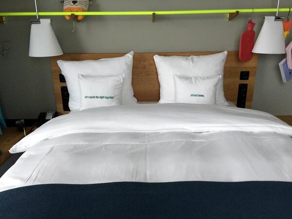 Bed, 25hours Hotel Zurich Langstrasse, Zurich, Switzerland