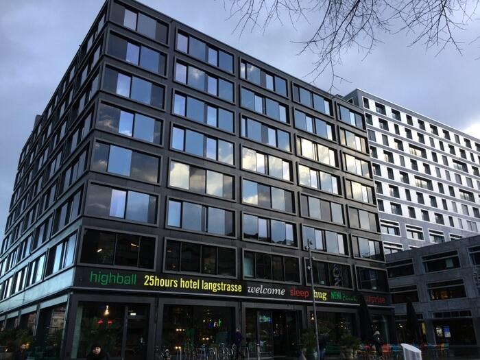 Exterior, 25hours Hotel Zurich Langstrasse, Zurich, Switzerland