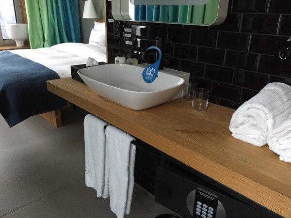 Guest room, 25hours Hotel Zurich Langstrasse, Zurich, Switzerland