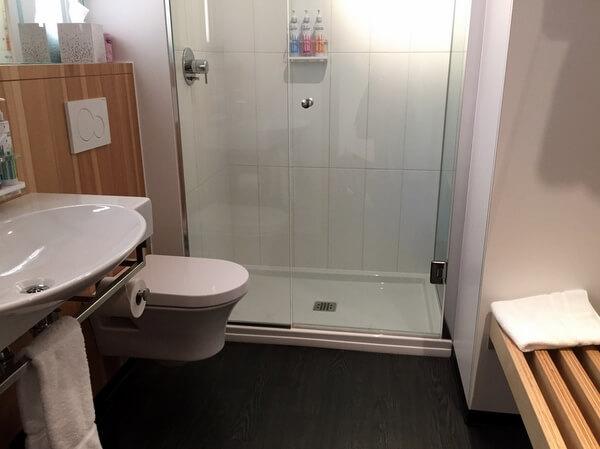 Bathroom, ALT Hotel Ottawa, Ontario, Canada
