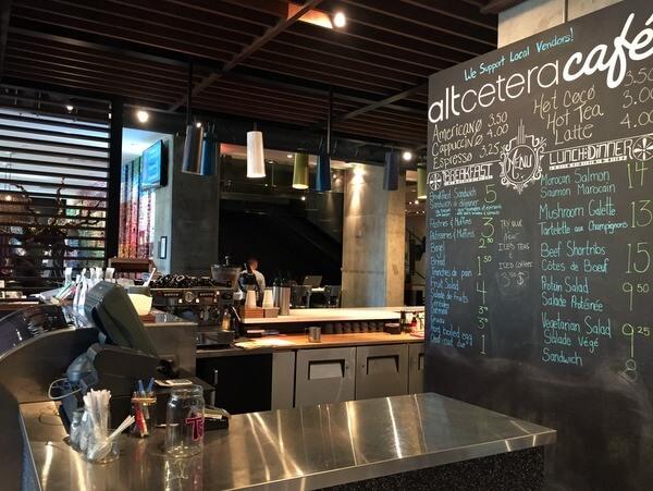 Cafe, ALT Hotel Ottawa, Ontario, Canada