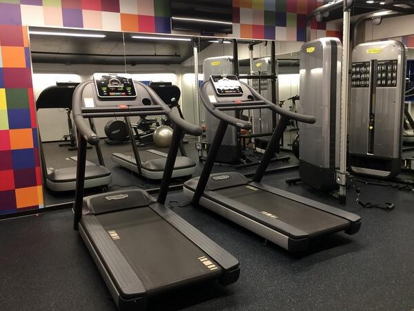 Fitness room, ALT Hotel Ottawa, Ontario, Canada