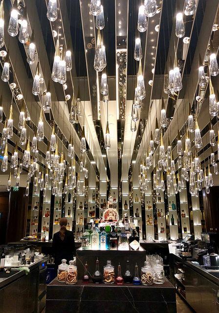 b24 lobby bar, fairmont rey juan carlos, barcelona, spain, hotel