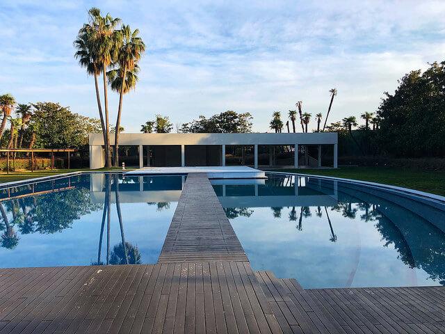 swimming pool, fairmont rey juan carlos I, barcelona, spain, fairmont hotel
