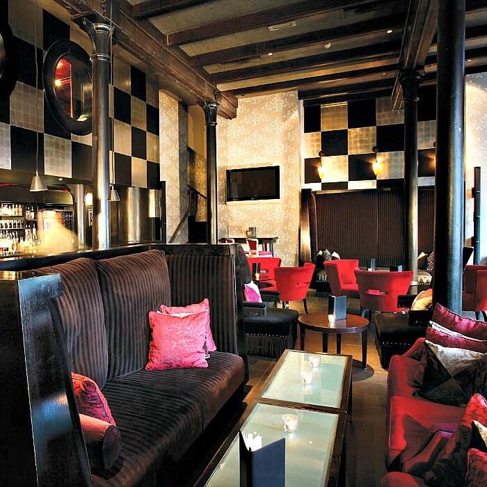 Malmaison Belfast ia luxury boutique hotel, in Northern Ireland.