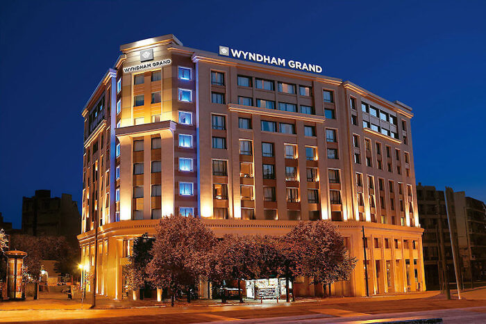 It's Grand at the Wyndham in Athens