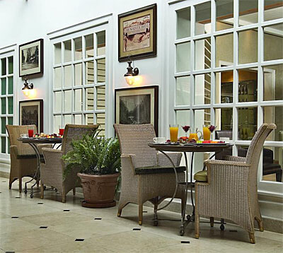 Lord Delamare Terrace, Fairmont the Norfolk Hotel, Nairobi, Kenya (Photo courtesy of The Norfolk)