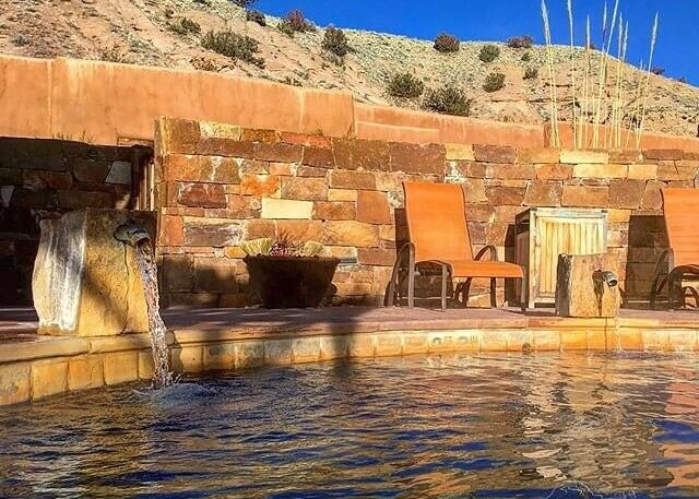 Ojo Caliente Nm S Hot Springs Hotel Is Among The U S S