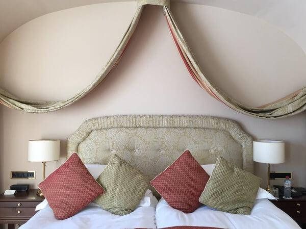 Guest room, Badrutt's Palace Hotel, St. Moritz, Switzerland