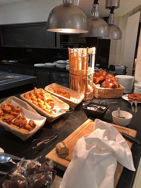 breakfast, grand hotel thalasso & spa, saint jean de luz, france