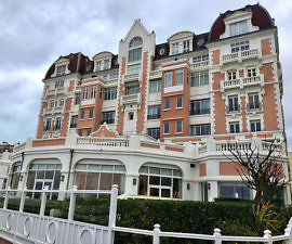 grand hotel thalasso, saint jean de luz, france, atlantic ocean hotel, basque coast