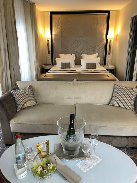 junior suite, grand hotel thalasso & spa, saint jean de luz, basque coast, france, nouvelle aquitaine