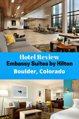 Hotel Review Embassy Suites by Hilton Boulder
