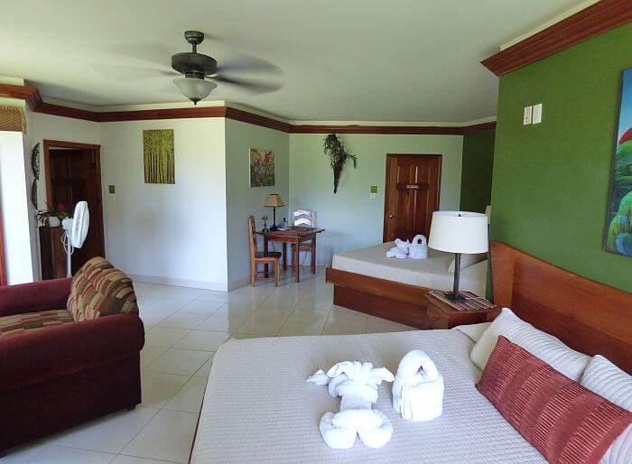 Sunset Suite at Bocawina Lodge in Belize