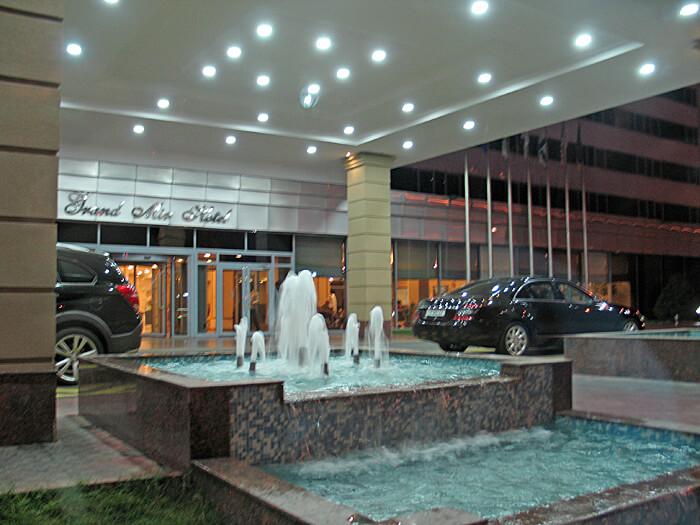Grand Mir Hotel, Tashkent, Uzbekistan (Photo by Susan McKee)