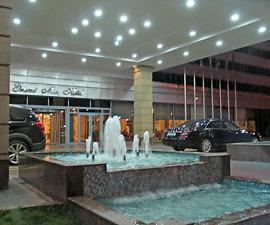 Grand Mir Hotel,Tashkent, Uzbekistan (Photo by Susan McKee)