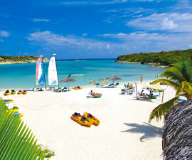 Caribbean, Antigua, Verandah Resort, Watersports Beach