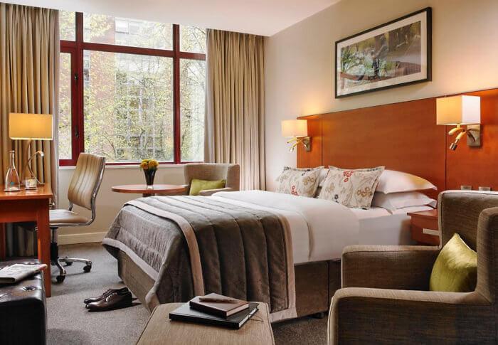 Mespil Hotel Room Dublin