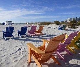 Saint Petersburg Beach in Florida Tampa Bay