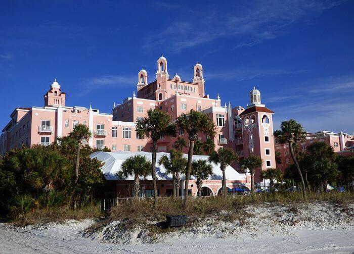 Don Cesar Resort on St. Pete Beach in Florida