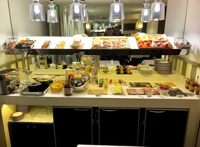 breakfast buffet, hotel bayonne etche ona, best western premier hotel, bordeaux, france