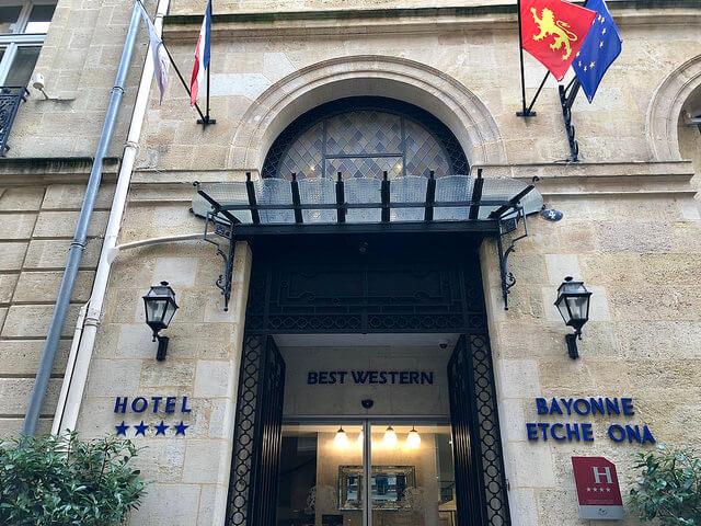 hotel bayonne etche ona, best western premier hotel, bordeaux, france