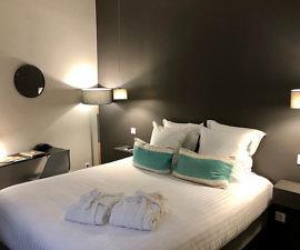 hotel de toury, boutique hotel, double bed, bordeaux, france,