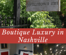 A review of Germantown Inn in Nashville Tennesee a boutique inn