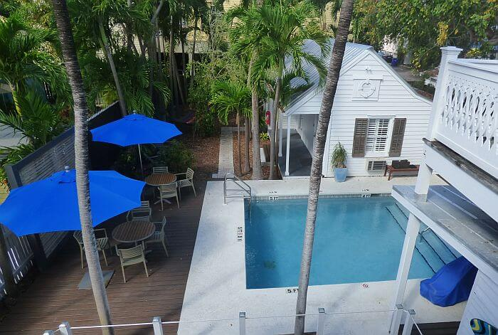swimming pool Chealsea House Key West