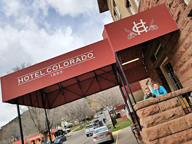 Hotel Colorado opened in 1893 in Glenwood Springs. Photo credit: Diana Rowe