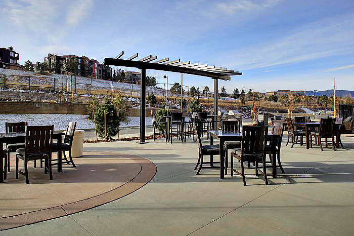 The Residence Inn Boulder Broomfield offers Outdoor seating with a grill