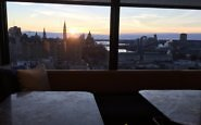 Bar views, Andaz Ottawa ByWard Market, Canada