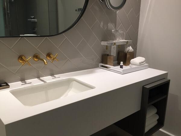 Bathroom, Andaz Ottawa ByWard Market, Canada