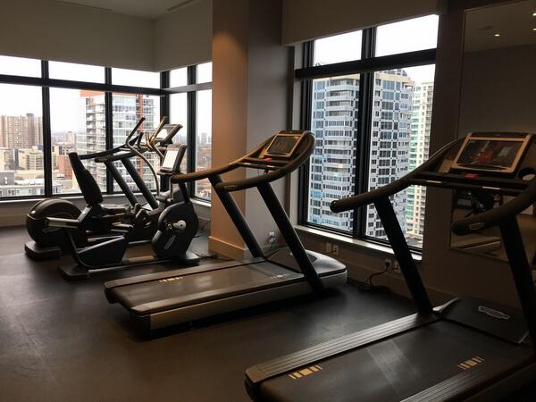 Fitness room, Andaz Ottawa ByWard Market, Canada