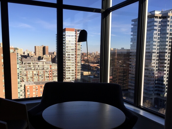 Guest room views, Andaz Ottawa ByWard Market, Canada