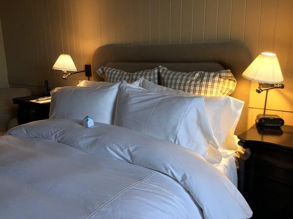 Guest room, Inn at Cobble Beach, Owen Sound, Ontario Canada