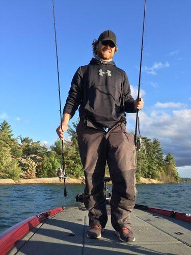 Fishing guide Adam Valee, Sault Ste. Marie, Ontario, Canada